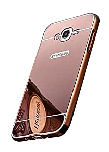 KES Mirror Back Cover SAMSUNG GALAXY A8 ROSE GOLD