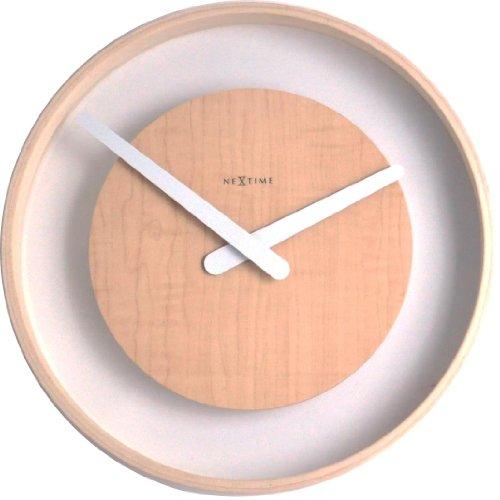 Nextime Wood Loop Wall Clock