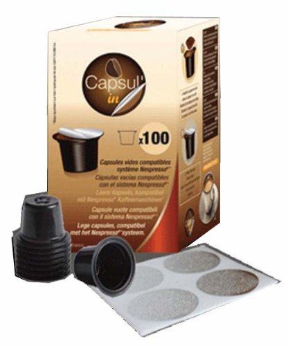 Find 100 Empty Capsules For Nespresso Machines - thecompatiblecapsules.com