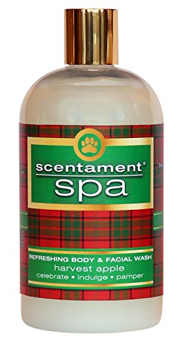 Best Shot Pet Scentament Spa Harvest Apple Holiday Facial & Body Wash, 16 oz by Best Shot Pet