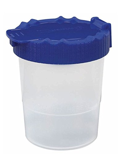 Malbecher-avec un couvercle en plastique