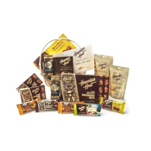Hawaiian Kamaaina Chocolate Macadamia Nuts & Royal Kona Coffee Lunch Bag Gift Basket #1