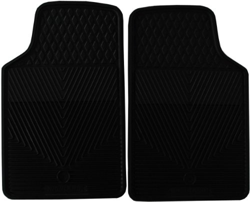 Highland 4602600 All-Weather Black Front Seat Floor Mat front-846612