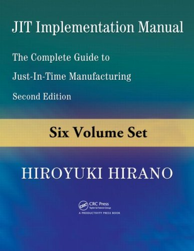 JIT Implementation Manual -- The Complete Guide to Just-In-Time Manufacturing: Volume 5 -- Standardized Operations -- Jidoka and Maintenance Safety