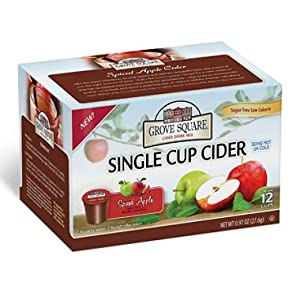 Grove Square Spiced Apple Cider Individual Cups - 72 ct.