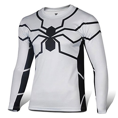 Kidcos Future Spider-man T-shirt Long Sleeves Tights Spider Venom Cosplay Costume