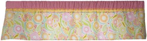 Kids Line Dena Happi Tree Valance, Pink (Discontinued by Manufacturer) - 1