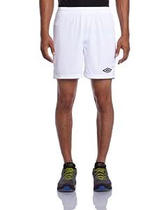 Umbro Classic Short homme Blanc/Noir FR : M (Taille Fabricant : M)