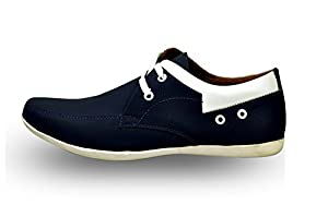 Rosso Italiano Men's Blue casual Shoe (ril499bu253)