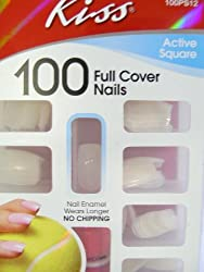 Kiss 100 Full Cover Nails/Active Square