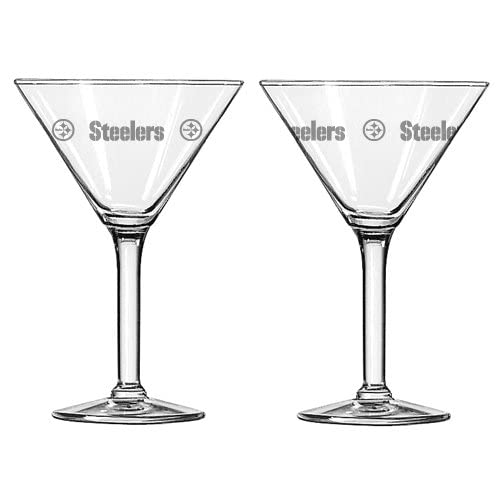 Amazon.com : NFL Pittsburgh Steelers 10-Ounce Martini