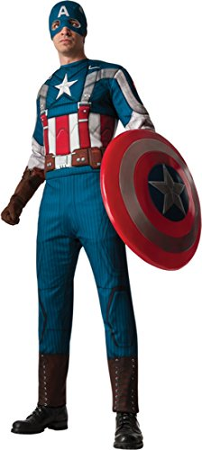 Marvel Men's Capt America Retro Costume
