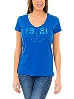 McGregor Camiseta Manga Corta Suzy Aw Tee Ss (Azul Royal)