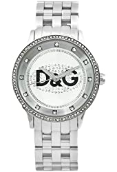 D&G Dolce & Gabbana Women's DW0145 Prime Time Stainless Steel Crystal Dial Watch