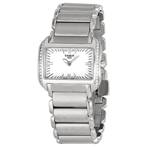 Tissot Women's T0233091103101 T-Wave White Dial Watch