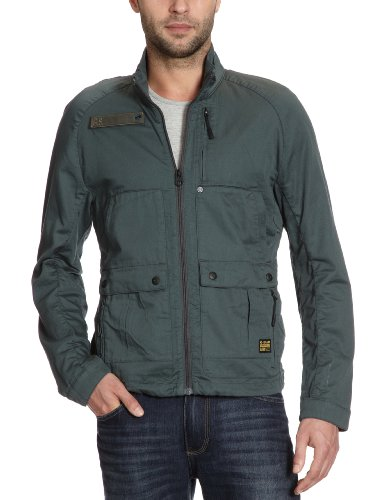 G-Star Men's Fleet Sport Jkt - 82506 Jacket Blue (Balsam 2990) 48/50