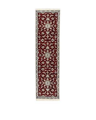 Eden Carpets Alfombra Nain K Rojo/Multicolor 295 x 80 cm