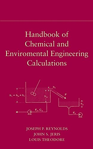 Handbook of Chemical and Environmental Engineering Calculations