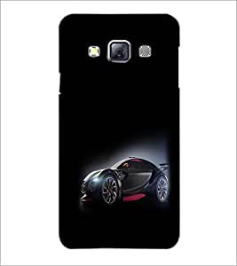 PrintDhaba Cool Car D-1172 Back Case Cover for SAMSUNG GALAXY A3 (Multi-Coloured)