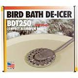 Allied Precision BDT250 Bird Bath De Icer Multiple Thermostat, 250-Watt