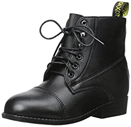 Saxon Childs Equileather Lace Paddock 2 Black