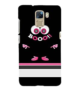 Horror Boot Chudel 3D Hard Polycarbonate Designer Back Case Cover for Huawei Honor 7