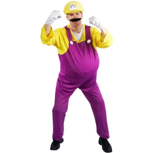 Lets Party By Rubies Costumes Super Mario Bros.   Wario Adult Costume