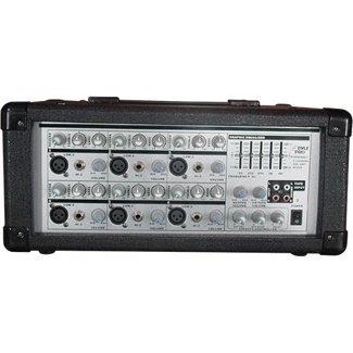 Pyle Pmx601 Powered Pa Mixer/Amplifier