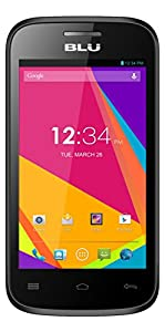 BLU Dash JR 4.0K Android 4.2, 2MP - Unlocked (Black)