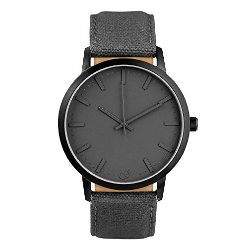 gaxs-watches-elliot-ohomme-montre-bracelet-noir-avec-bracelet-canvas-gris