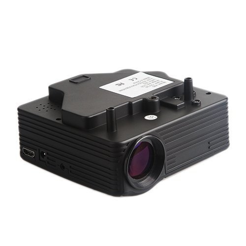 Lightinthebox?Mini HD Home LED Home Theater Projectors 640x480 With VGA USB SD HDMI Input Black
