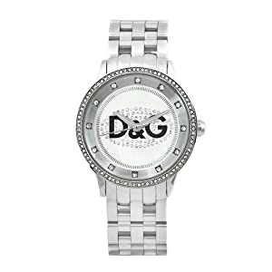 D&G Dolce & Gabbana Women's DW0145 Prime Time Stainless ...