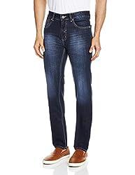 Blumerq Men's Slim Fit Jeans (8907041098800_ISLAND A 1502W_36W x 36L_Blue)