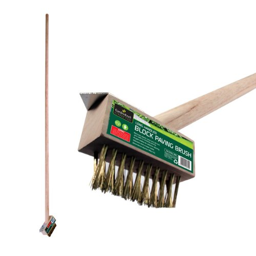 Benross GardenKraft 10610 Garden Path Patio Long Handled Wire Brush and Scraper