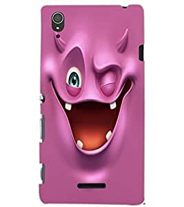 SONY XPERIA T3 SMILE Back Cover by PRINTSWAG