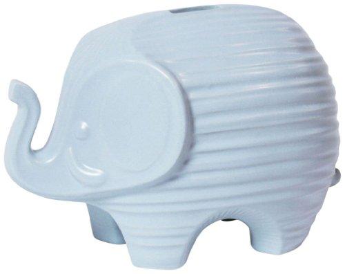 Jonathan Adler Elephant Bank - Blue - 1