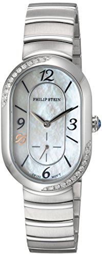 Philip-Stein-Womens-Modern-Swiss-Quartz-Stainless-Steel-Dress-Watch-ColorSilver-Toned-Model-74SD-FMOP-MSS