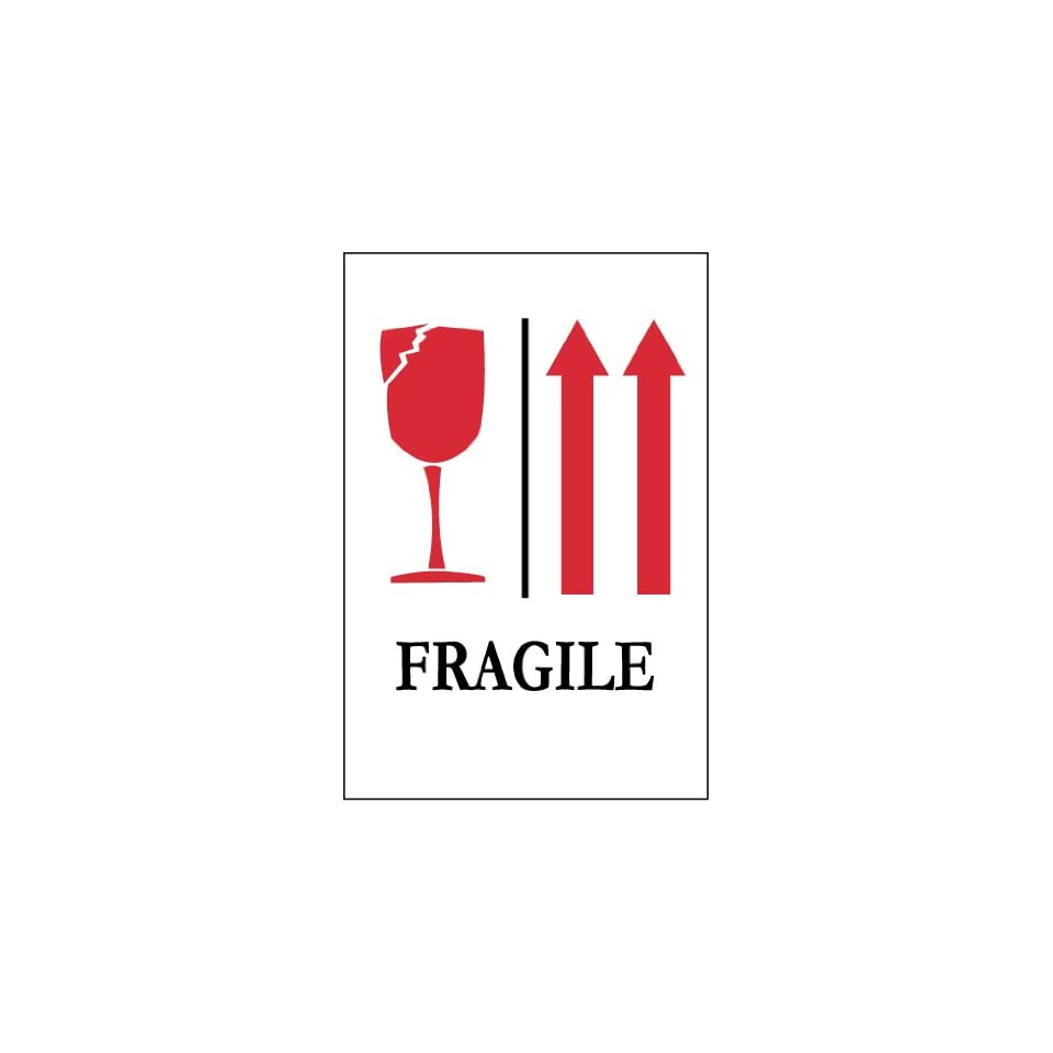 LABELS (GRAPHIC) UP ARROWS FRAGILE