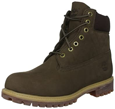 "Timberland Men's 6"" Premium Boot,Olive,11 M US"
