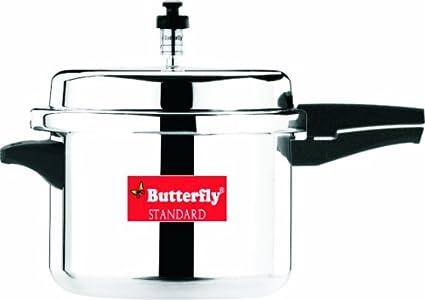 Butterfly-Standard-Plus-Aluminium-12-L-Pressure-Cooker