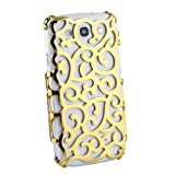 Grapevines Hollow Vines Hard Back Case for Samsung Galaxy S3 i9300 - Gold