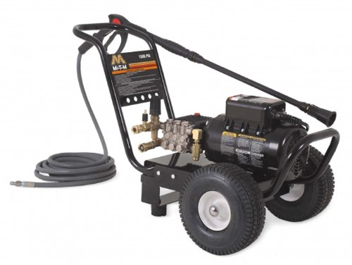 Mi-T-M Jp-1502-2Me1 Jp Series Cold Water Electric Direct Drive, 2.0 Hp Motor, 120V, 17A, 1500 Psi Pressure Washer