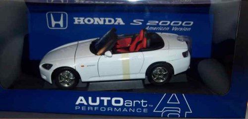 Buy AUTOart Diecast Honda S2000 White Car 1/18 Scale