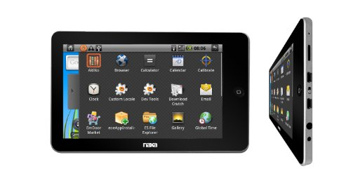 Naxa Nid-7000 Core 7 Tablet Pc W/ 4Gb Built In Memory Powered Android Os