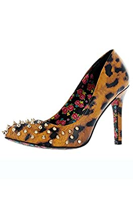 Iron Fist Change Your Spots Heel - Leopard