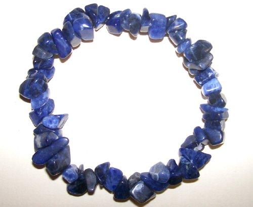 Sunsara - Sodalite Healing Crystal Power Chip Bracelet