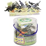 18pc DINOSAURS IN TUB