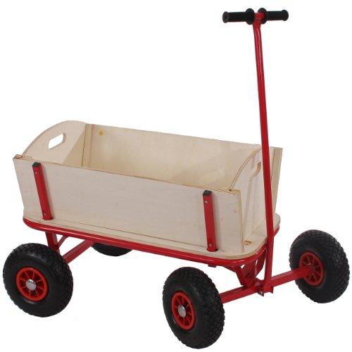 Carriola carretto legno per bambini 89x61cm ~ senza tetto