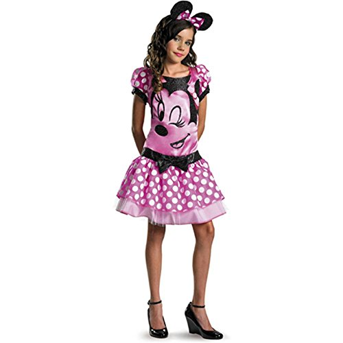 Clubhouse Pink Minnie Mouse Kids Costume