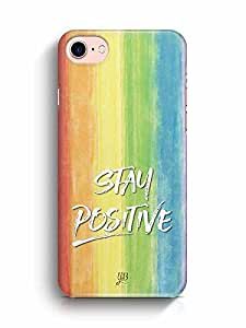 YuBingo Stay Positive Designer Mobile Case Back Cover for Apple iPhone 7